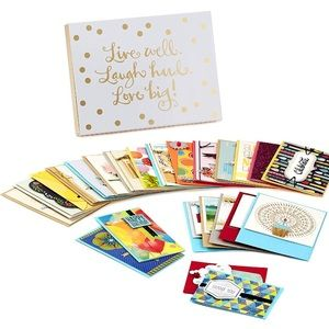 Hallmark 24 All-Occasion Cards with Card Box